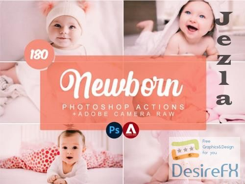 Newborn Photoshop Actions and ACR Preset