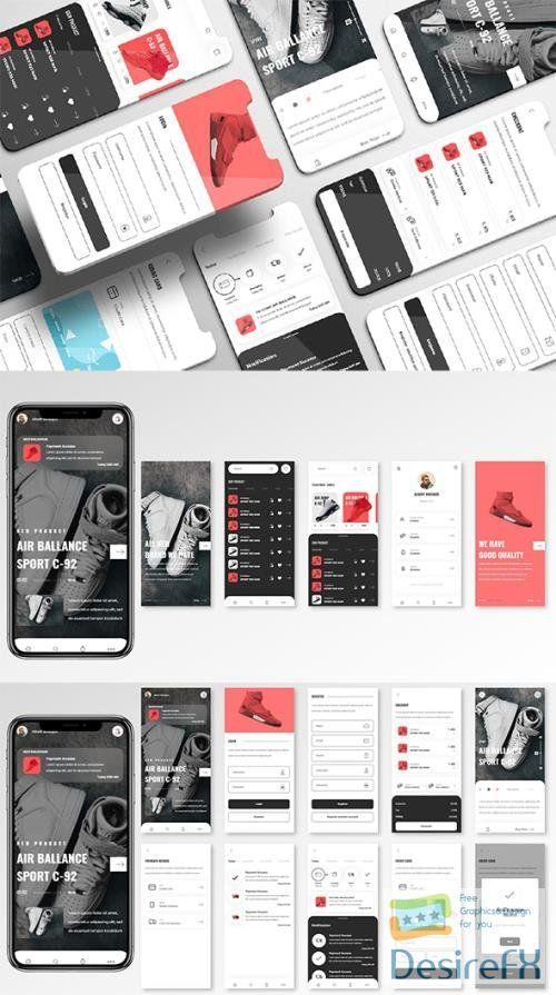 Obuv UI Kit - Shoes Store Apps