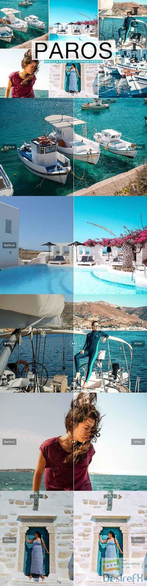 Paros Pro Lightroom Presets - 5798996 - Mobile & Desktop