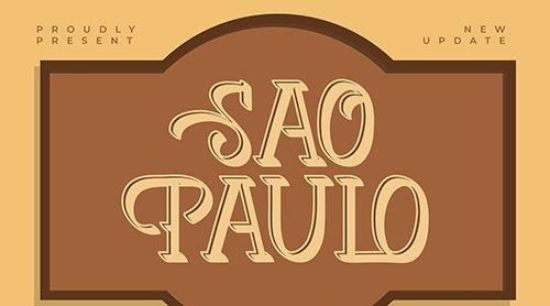 Sao Paulo | Vintage Typeface