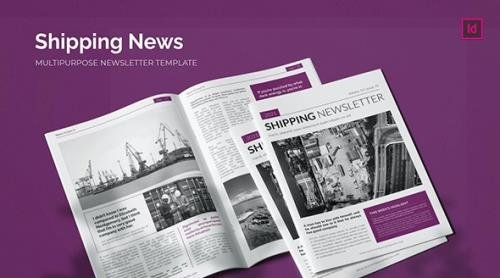 Shipping News - Newsletter Template