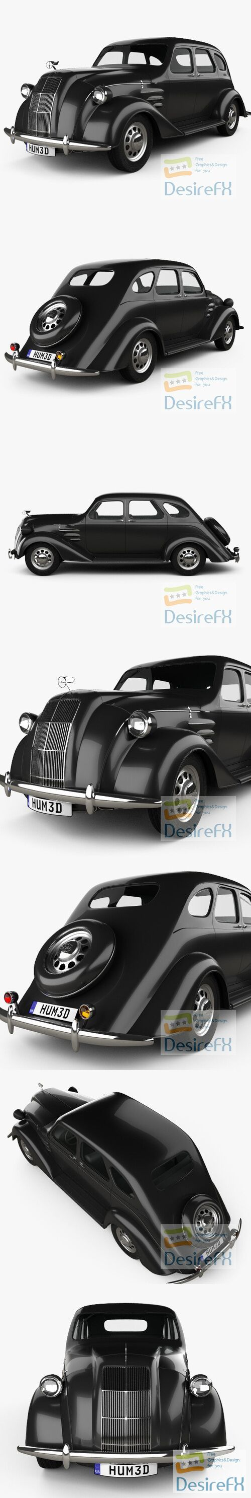 Toyota AA 1940 3D Model