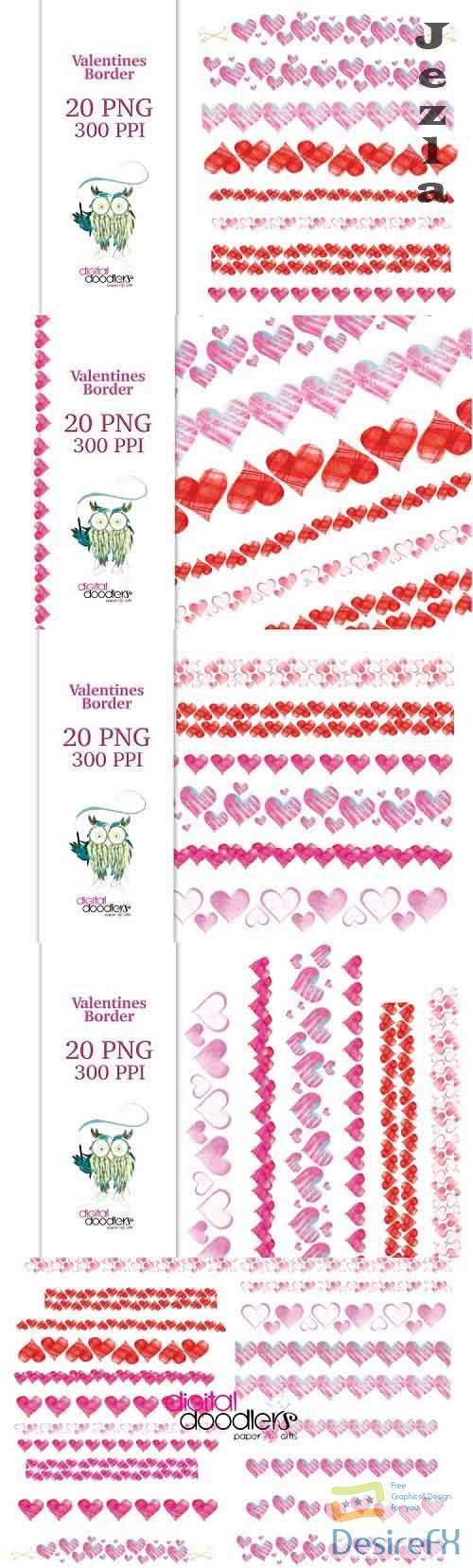 Valentine Borders - 1134024