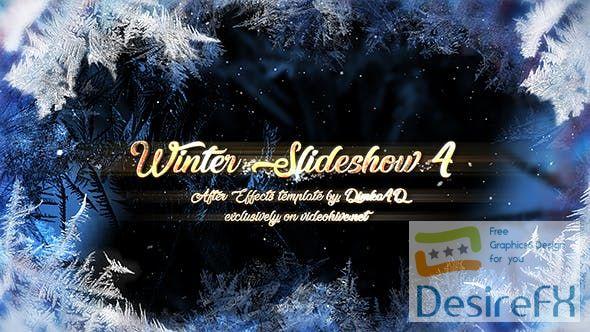 Videohive Winter Slideshow 4 21075135