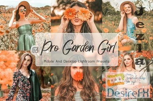 10 Pro Garden Girl Decktop And Mobile Lightroom Presets - 1217627