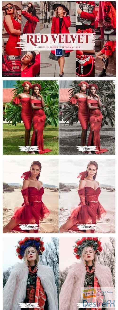 10 Red Velvet Mobile & Lightroom - 5892514