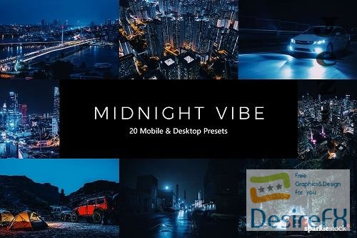 20 Midnight Vibe LR Presets- 5555031
