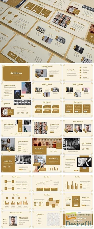 Art Deco - Luxury Powerpoint Template