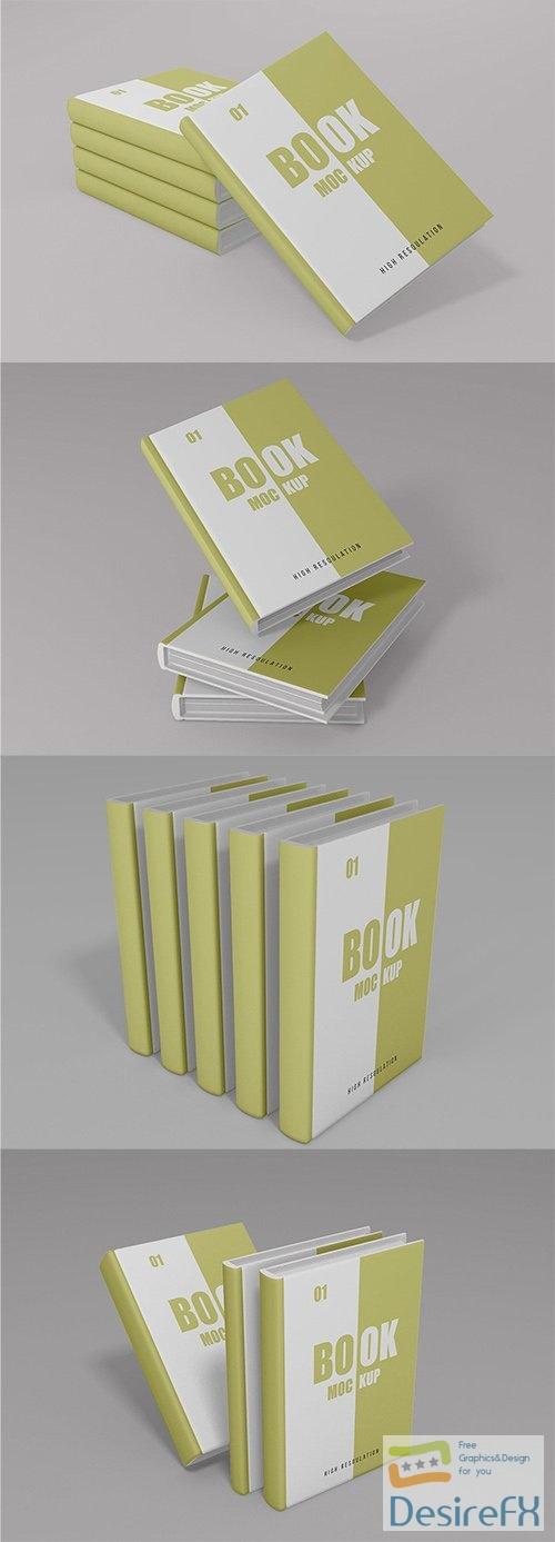 Book Mockup - Vol 04 PSD