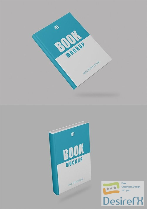 Book Mockup - Vol 05 PSD