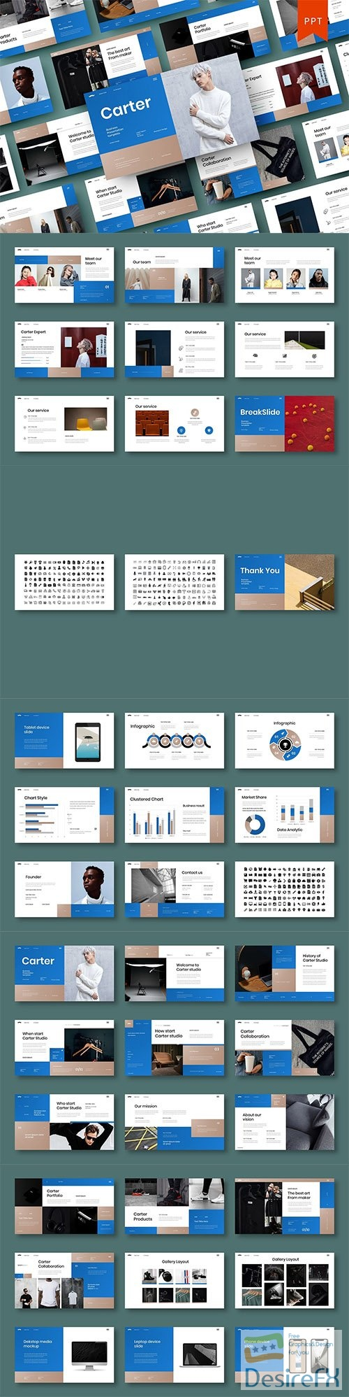 Carter – Business PowerPoint Template
