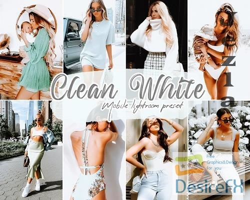Clean White Lightroom Presets - 5858827