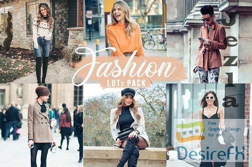 CreativeMarket - Fashion LUTs   Fashion Video filters 5749768