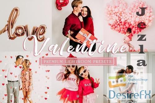 CreativeMarket - Valentine Portrait Lightroom Presets 5830165
