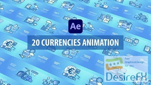 Currencies Animation - After Effects 30811303