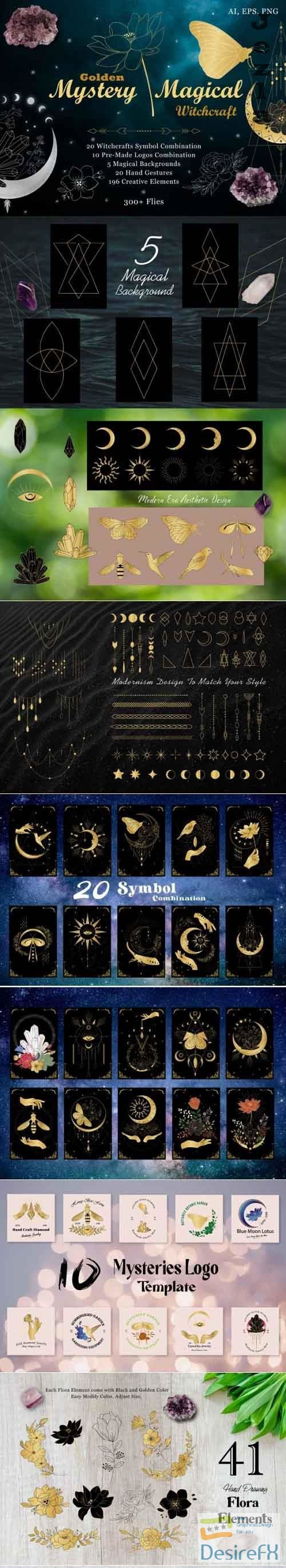 Golden Mystery Magical Witchcraft - 5352874