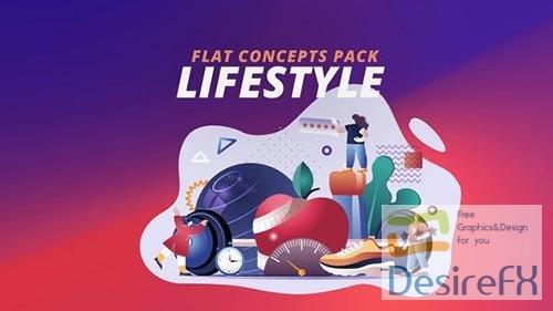 Lifestyle - Flat Concept 30816727