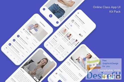 Online Class App UI Kit Pack