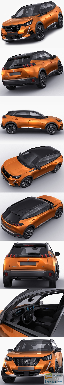 Peugeot 2008 GT 2020 3D Model