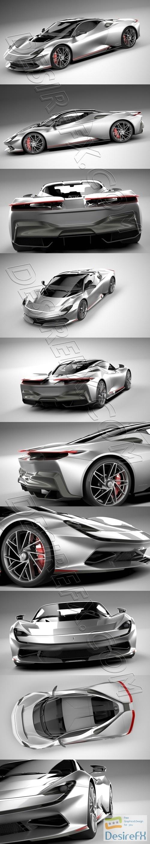Pininfarina Battista 2020 3D Model