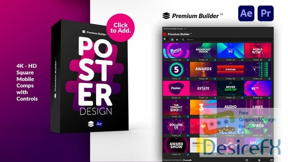 Videohive Posters V.5 30259738