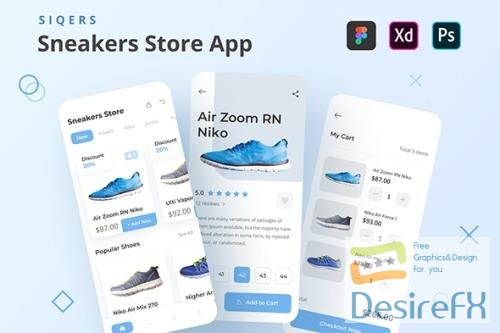 SiQers - Sneakers Store Mobile App