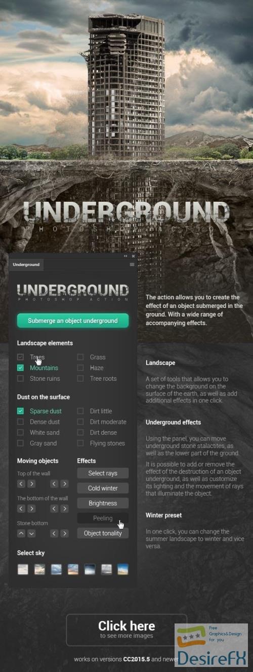 Underground Photoshop Action 29914451