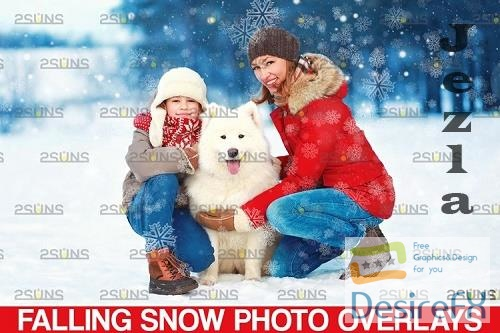 Winter overlays, Snow white clipart, Snow overlay - 1131541