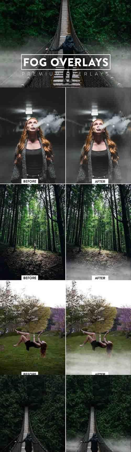 50 Fog Effect Overlays - 5929997