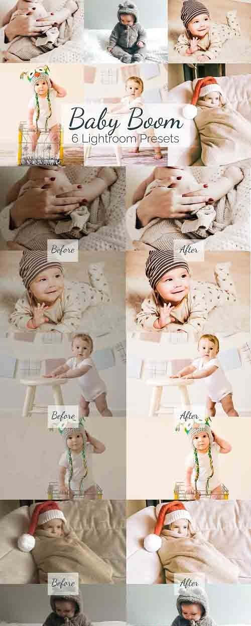 CreativeMarket - Baby Boom - Lightroom Presets Pack 5836549