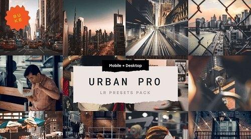 CreativeMarket - Urban Pro  5 Lightroom Presets 5036183