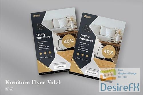 Furniture Flyer Vol.4 PSD