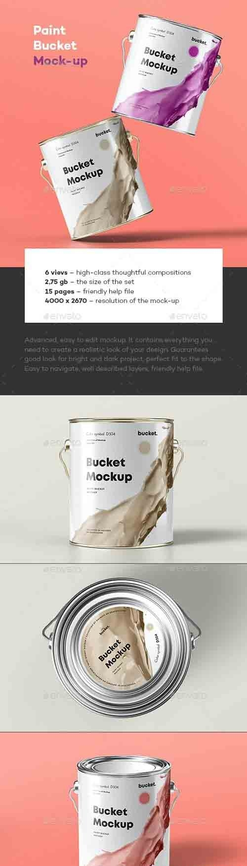 GraphicRiver - Paint Bucket Mock-up 30743922