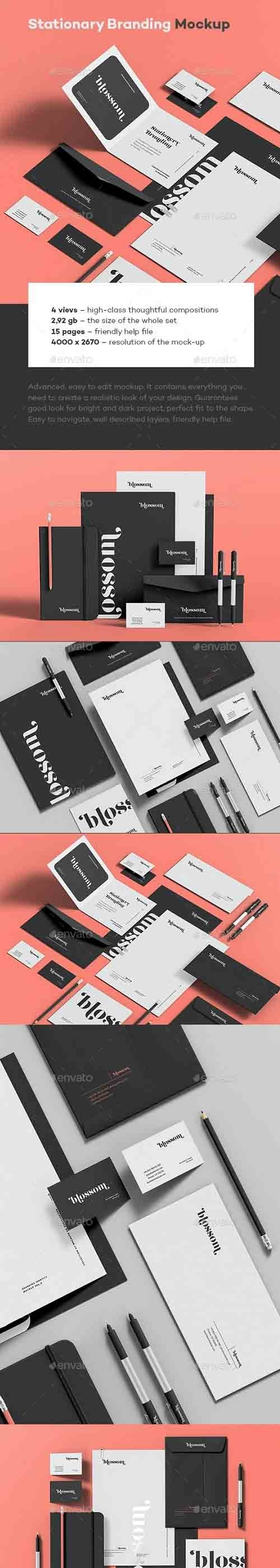 GraphicRiver - Stationary Branding Mock-up 9 30743894