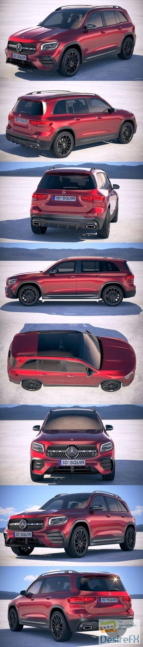 Mercedes-Benz GLB AMG 2020 3D Model