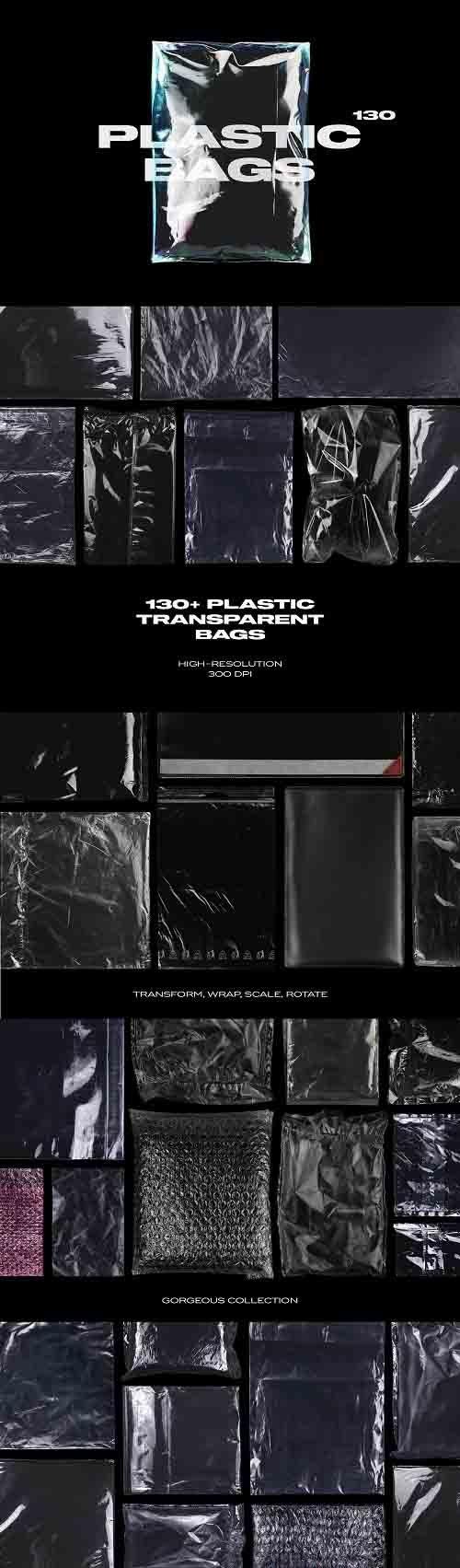 Plastic Bags Texture Branding Bundle - 5753364