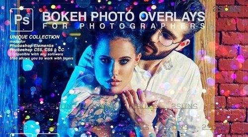 Sparkler wedding overlay & Photoshop overlay, Bokeh light V7- 1213424