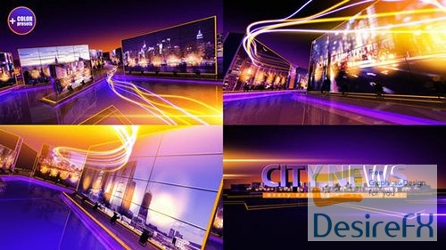 VideoHive - City News 19997680