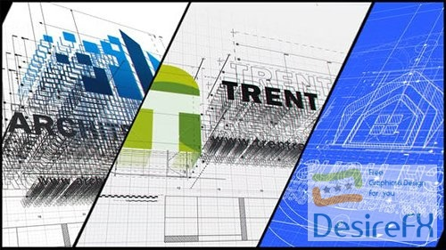 VideoHive - Clean Architect Logo 31182999