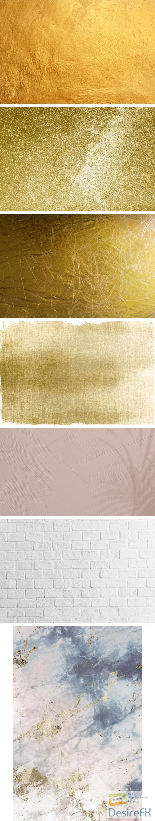 7 Various Textured Backgrounds