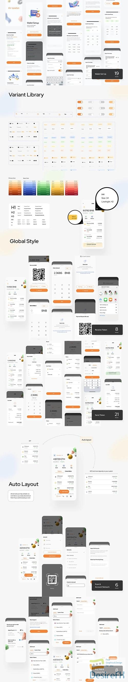 Air Crypto DeFi Wallet Mobile