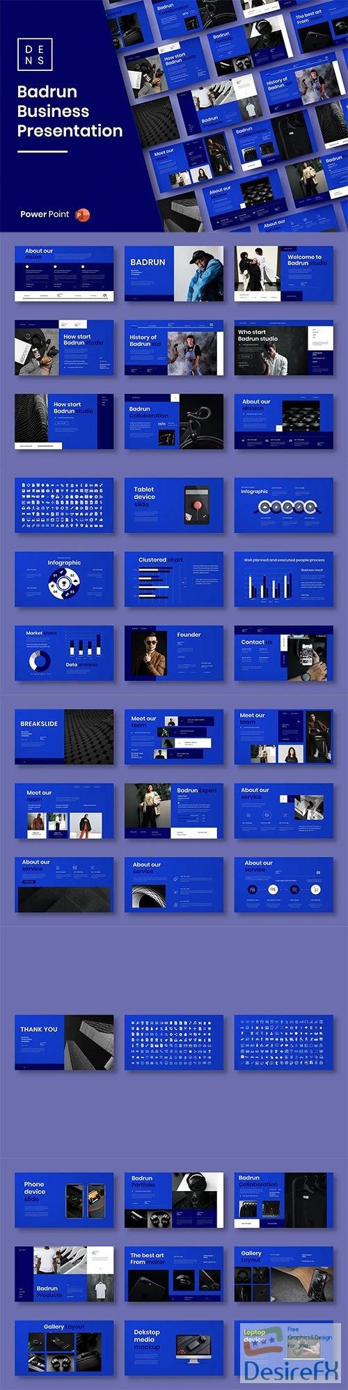 Badrun – Business PowerPoint Template