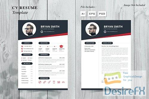 Bryan Smith - CV Resume Template