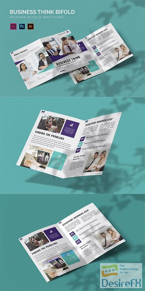 Business Think - Bifold Brochure