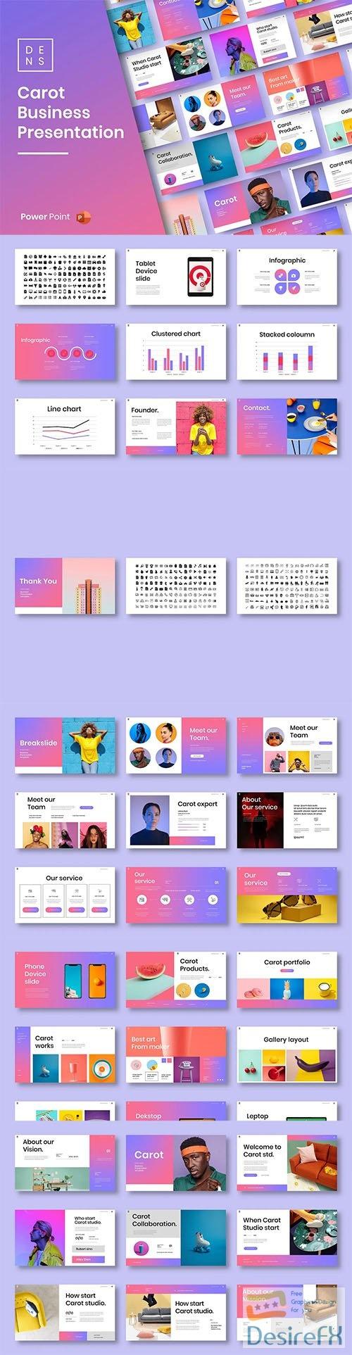 Carot – Business PowerPoint Template