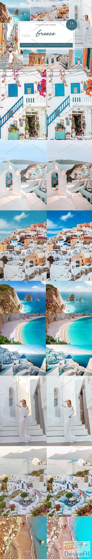 CreativeMarket - 14 x Lightroom Presets, Greece 5962548
