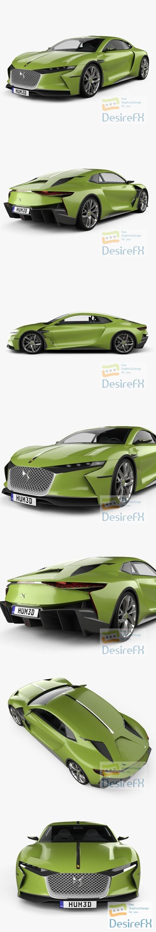 DS E-Tense 2016 3D Model