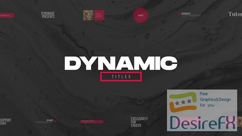 Dynamic Titles Pack 31765502
