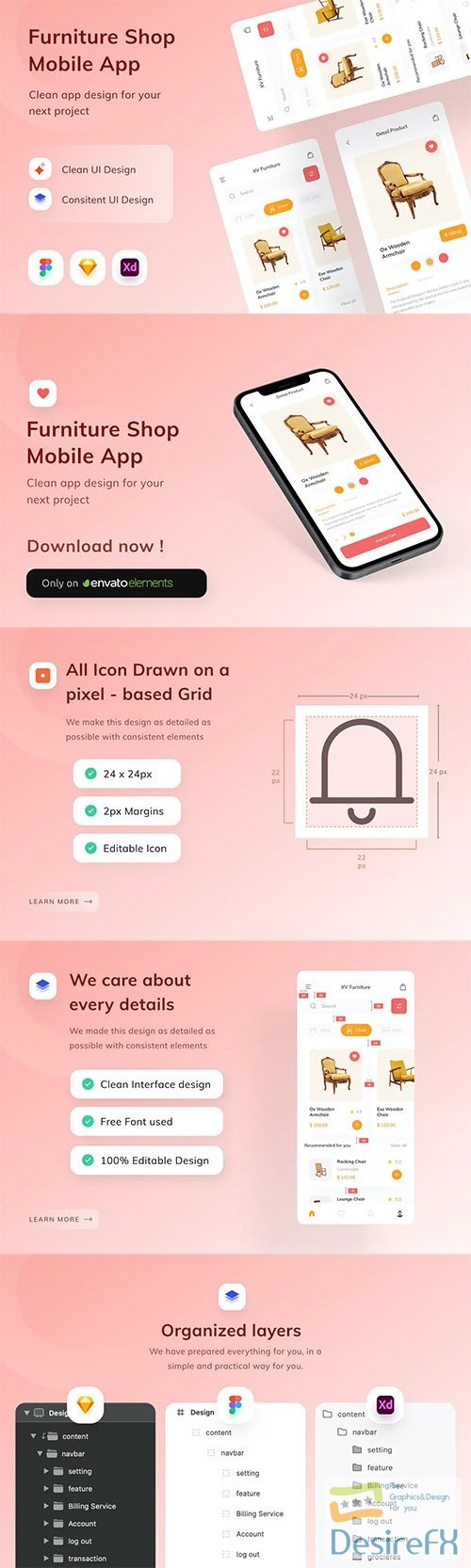 Furniture Shop Mobile App