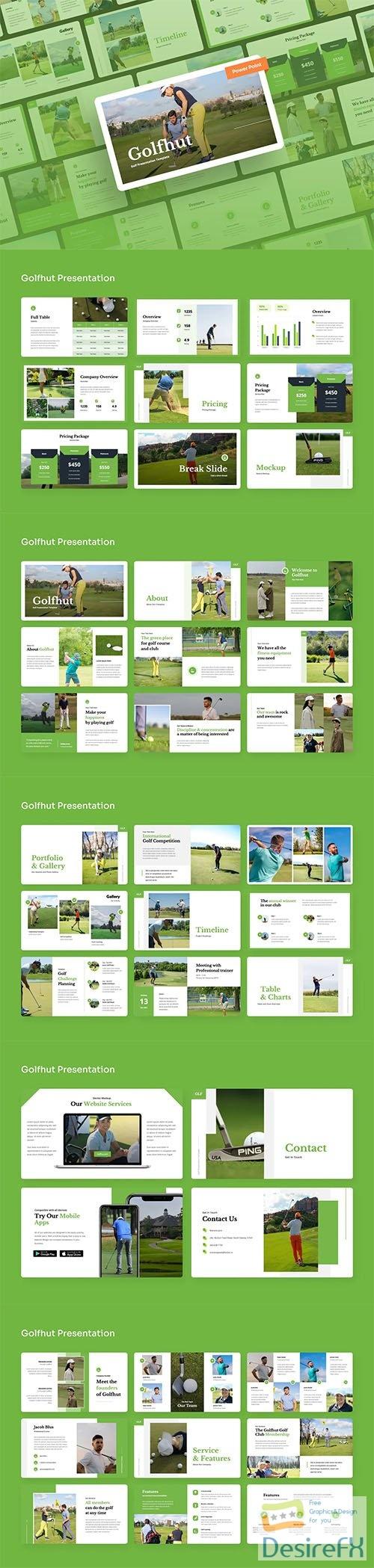 Golfhut - Golf Power Point Presentation